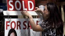 Home sales up 27% over a year ago